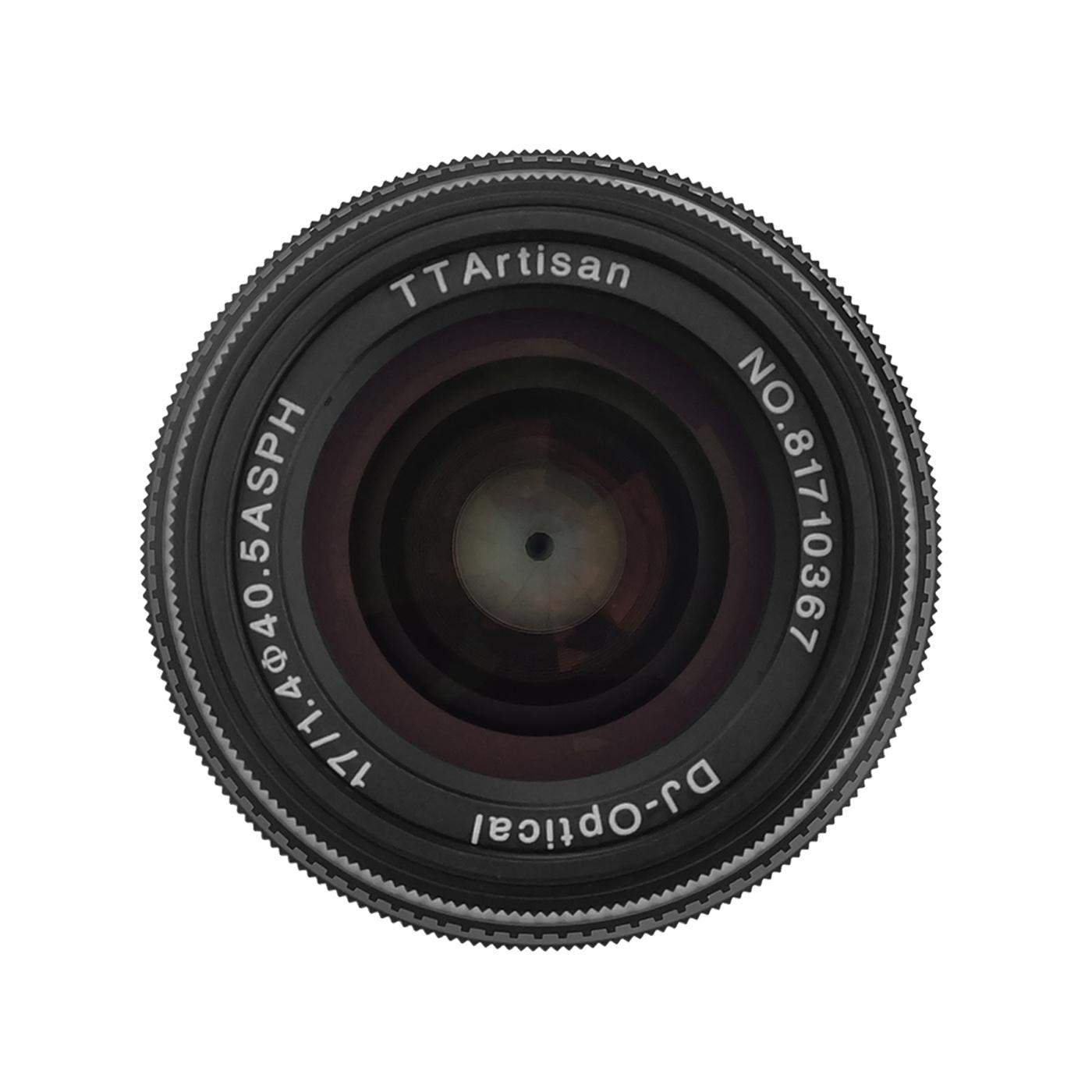 TTArtisan 17mm 1:1,4 für MFT