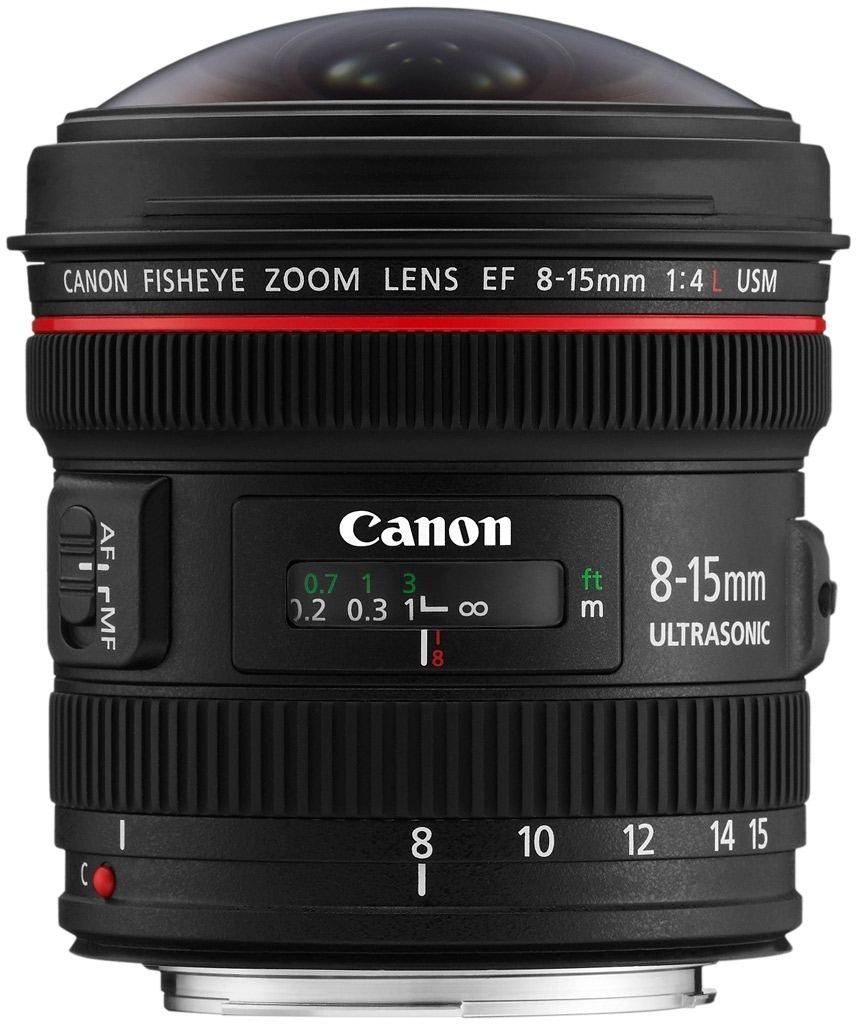 Canon EF 8-15 mm 1:4 L Fisheye USM