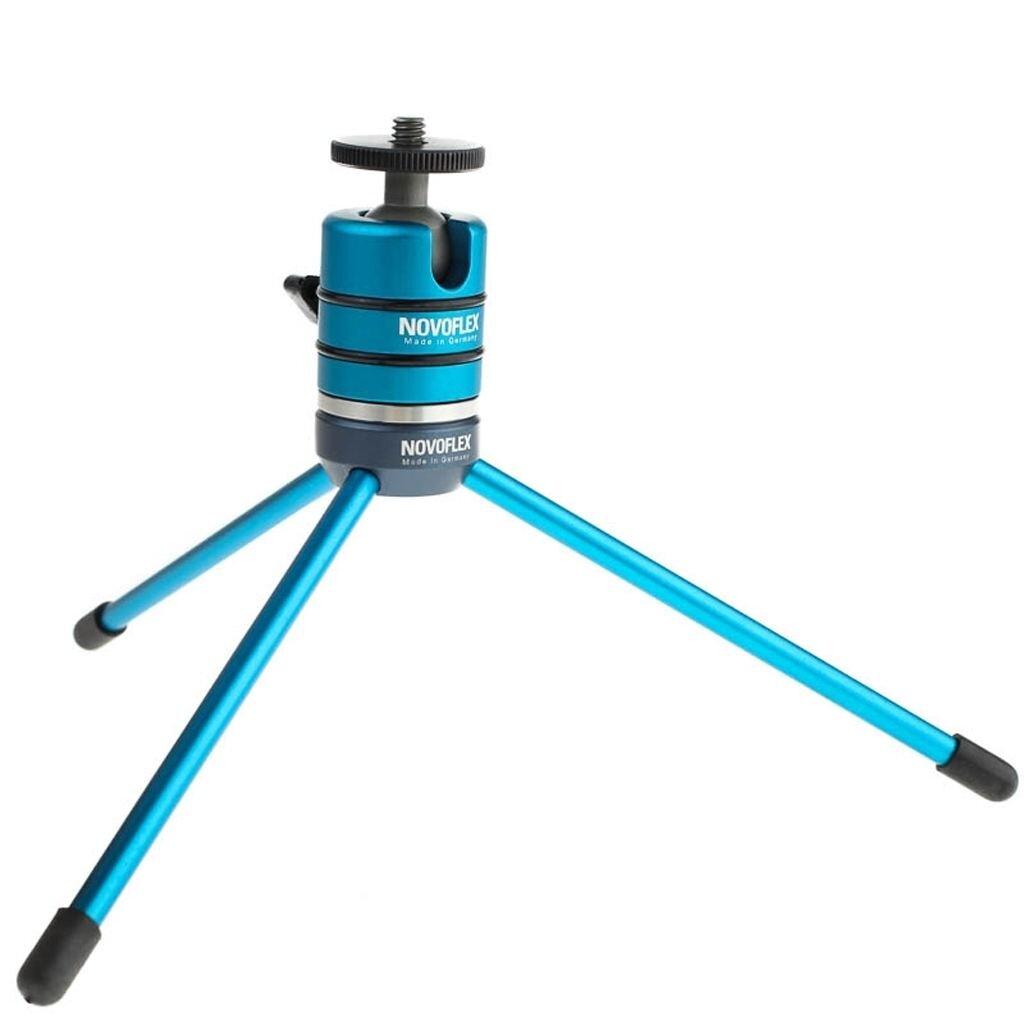 Novoflex MicroPod Ministativ mit Ball 19 Kugelkopf - für kleine DSLRs und Systemkameras