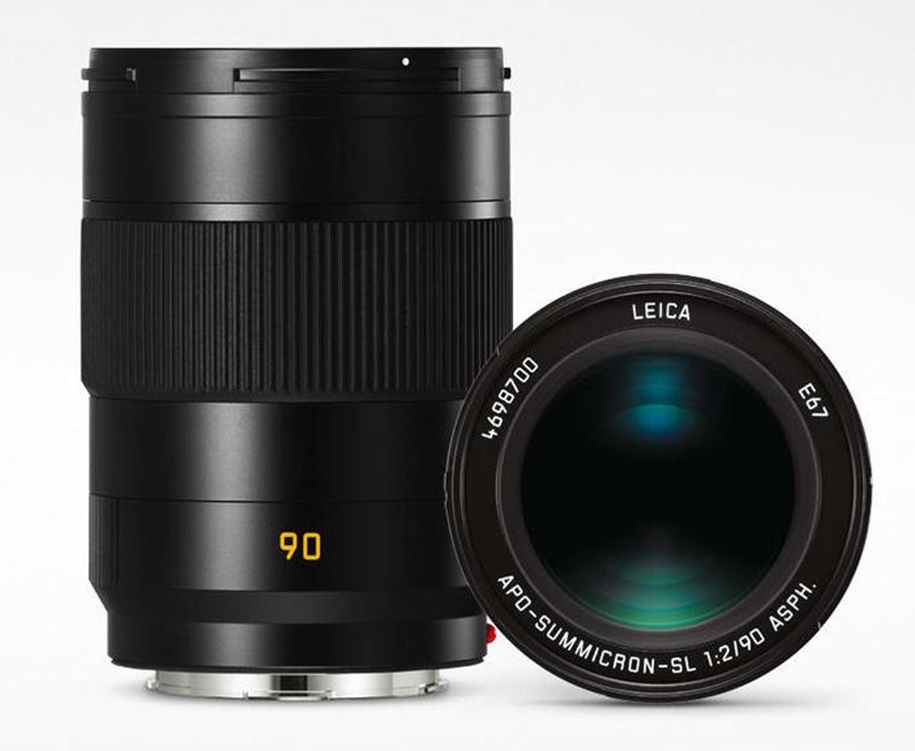 LEICA APO-SUMMICRON-SL 1:2/90mm ASPH. schwarz eloxiert 11179