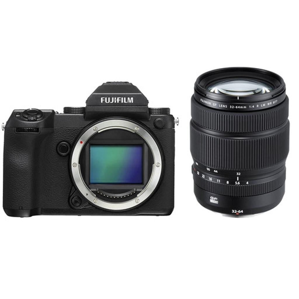Fujifilm GFX 50S + GF 32-64mm 1:4 R LM WR