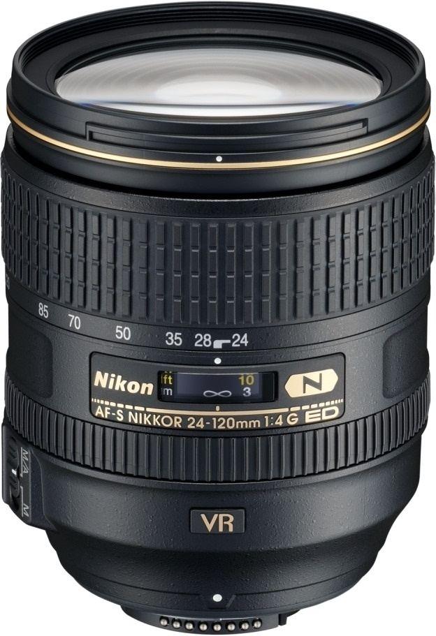 Nikon AF-S NIKKOR 24-120mm 1:4G ED VR aus Set