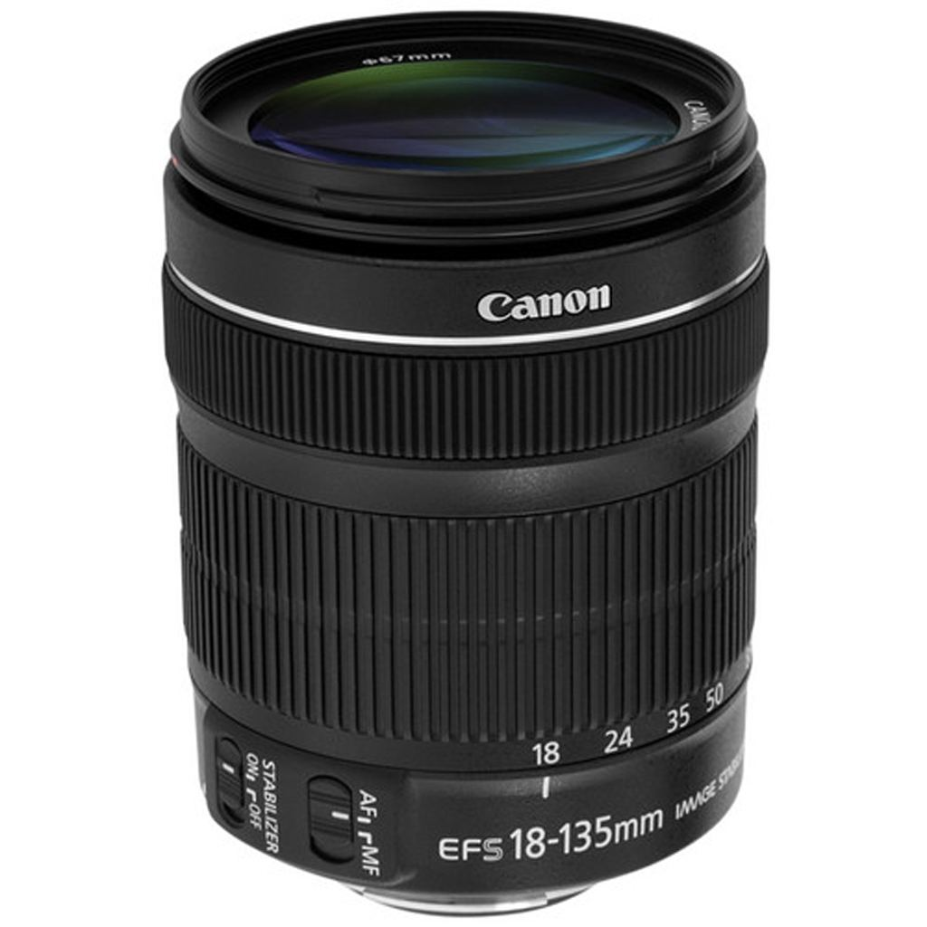 Canon EF-S 18-135mm 1:3,5-5,6 IS STM aus Set