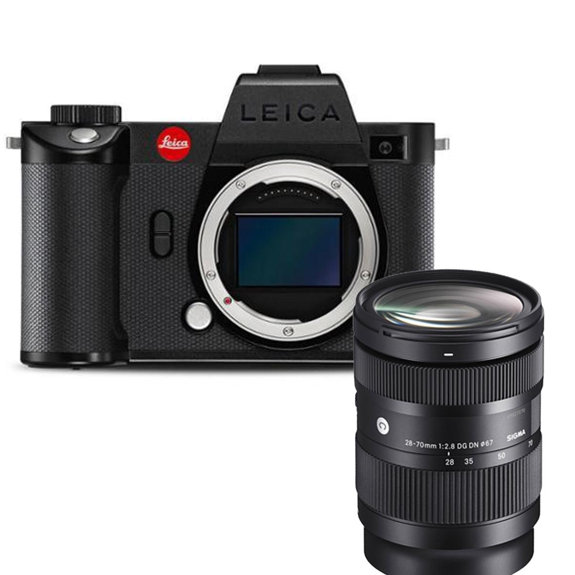 Leica SL2-S body 10880 + SIGMA 28-70mm F2.8 DG DN CON.  - SET
