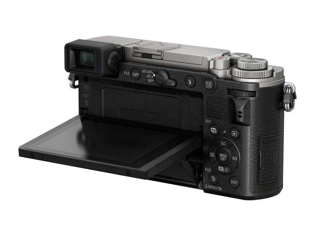Panasonic LUMIX DC-GX9 silber inkl. 12-60mm 1:3,5-5,6 G Vario Power OIS