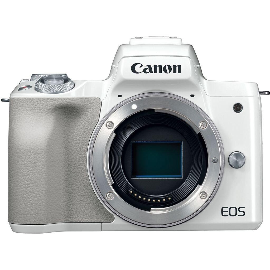 Canon EOS M50 weiß Gehäuse