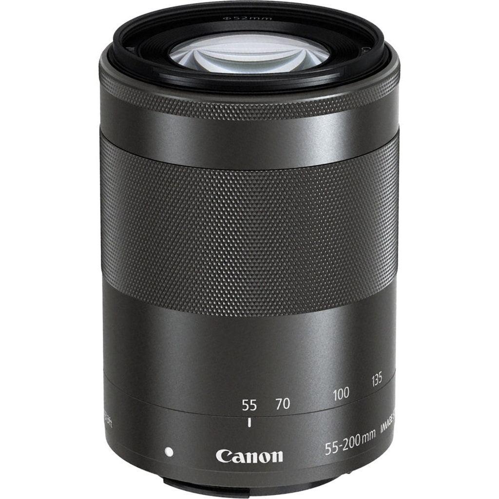 Canon EF-M 55-200mm 1:4,5-6,3 IS STM schwarz aus Set