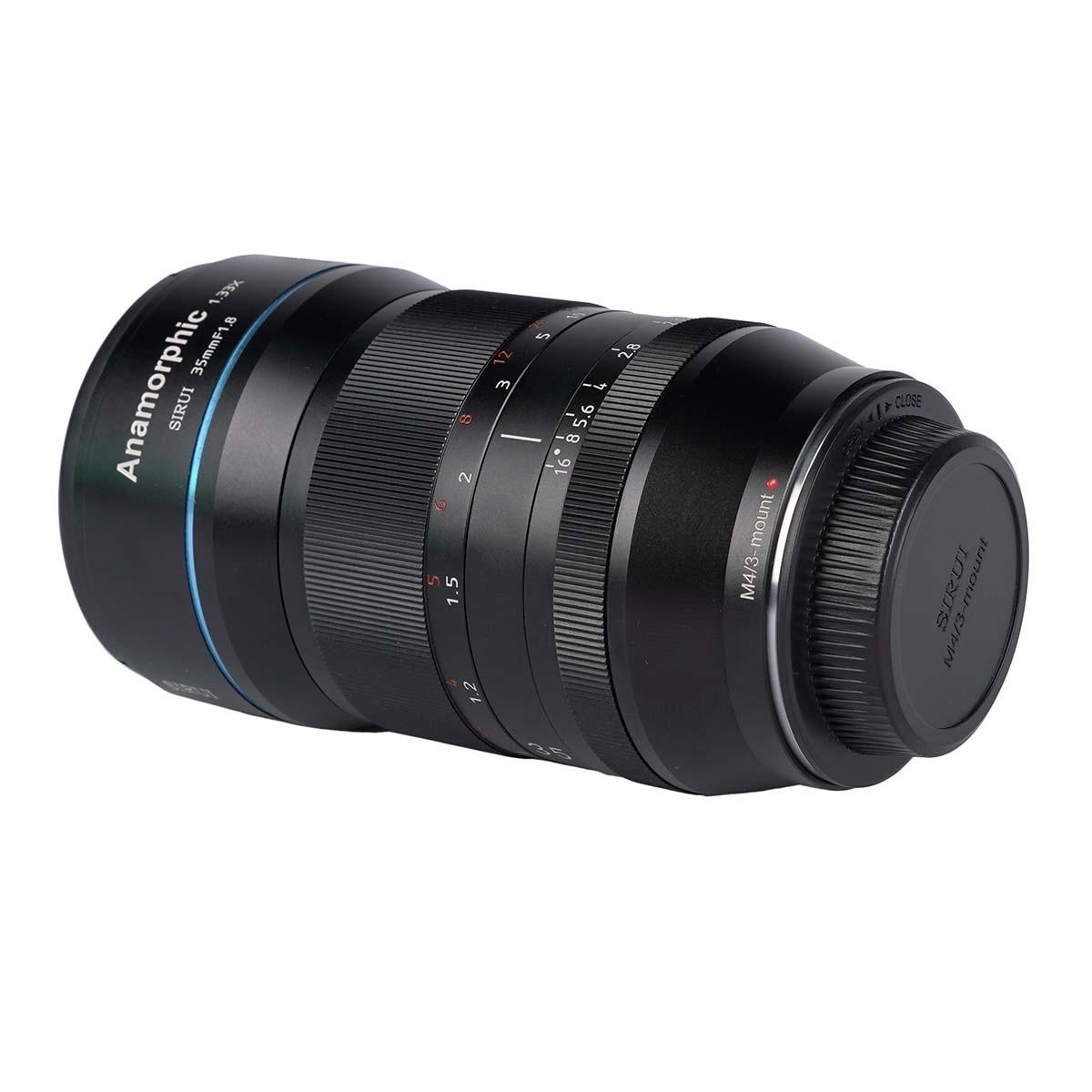 SIRUI 35mm 1:1,8 1.33x anamorphes Objektiv SR35-M für MFT