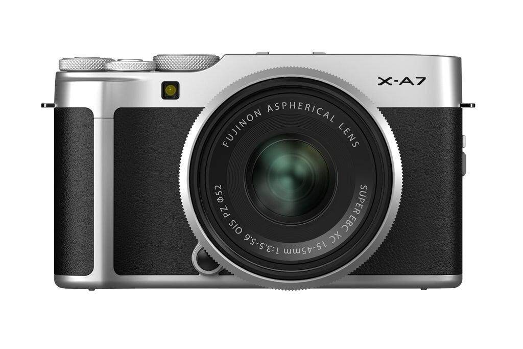 Fujifilm X-A7 silber inkl. XC 15-45mm 1:3.5-5.6 OIS PZ