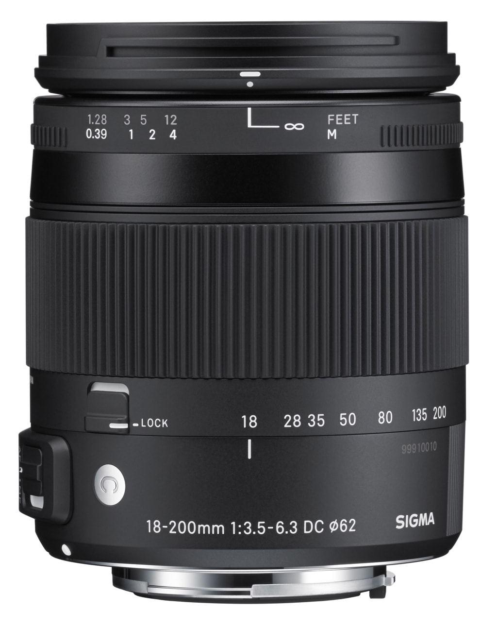Sigma 18-200mm 1:3,5-6,3 DC Macro OS HSM Contemporary für Canon EF