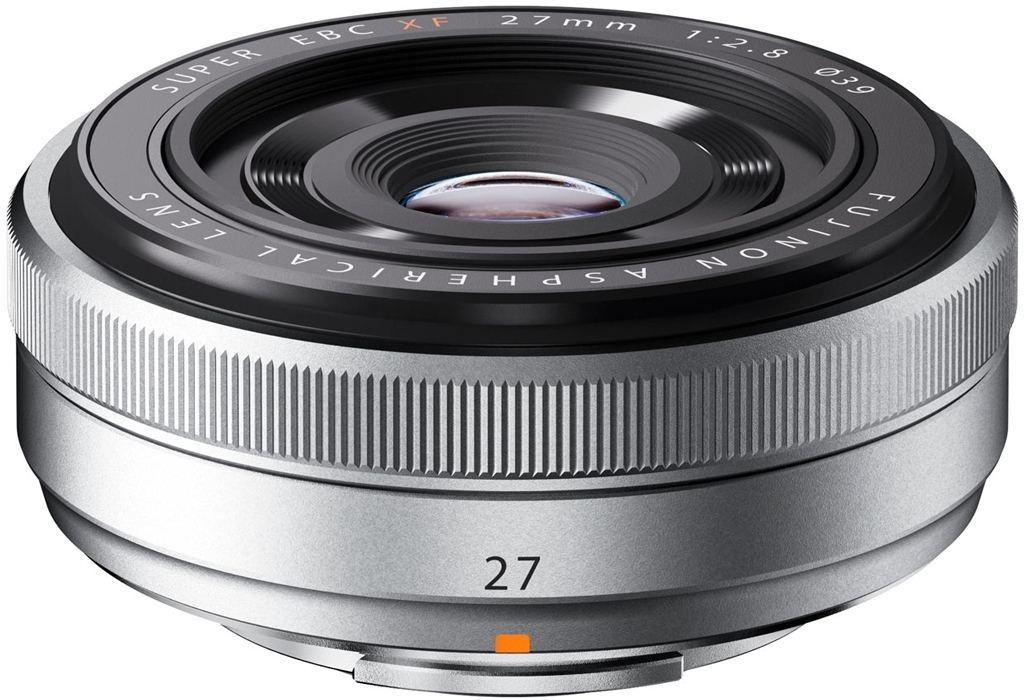Fujifilm XF 27mm 1:2,8 silber