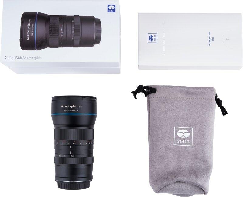 SIRUI SR24-E 24mm Anamorphic lens (E Mount)