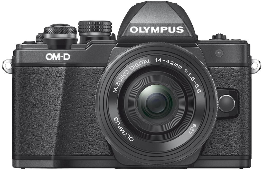 Olympus OM-D E-M10 Mark II schwarz inkl. 14-42mm 1:3,5-5,6 II R