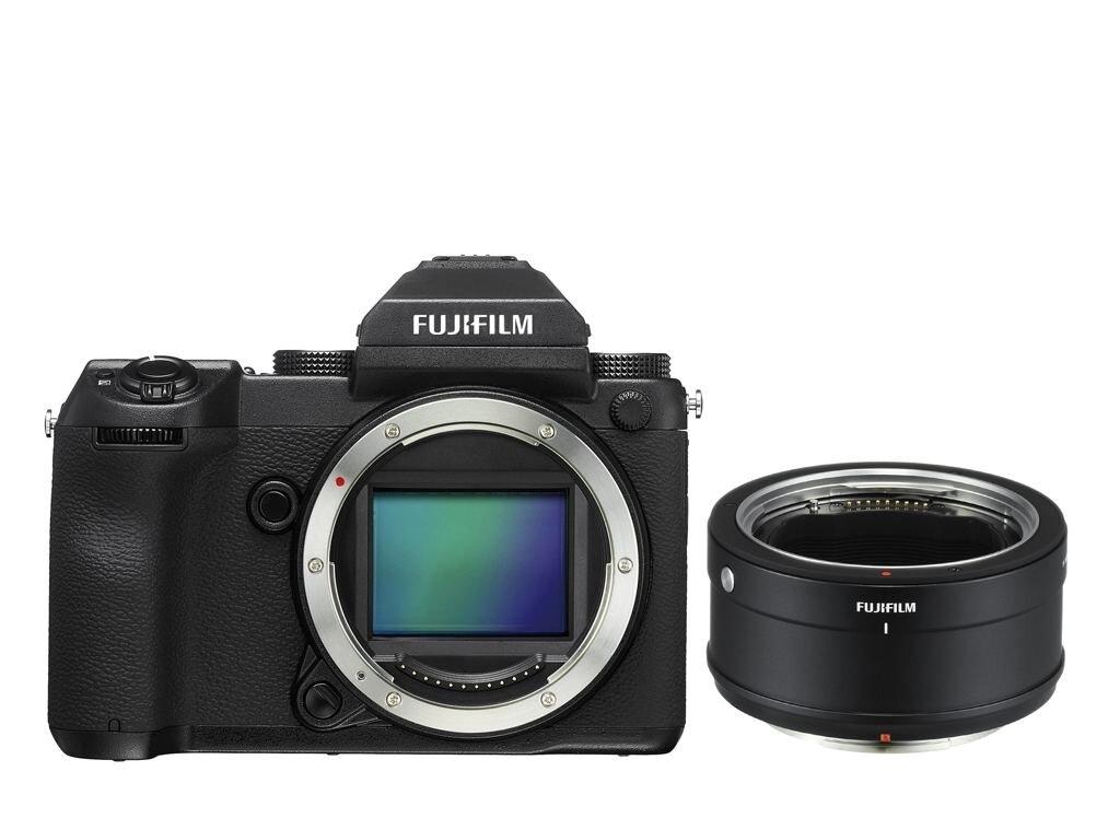 Fujifilm GFX 50S +H Mount Adapter