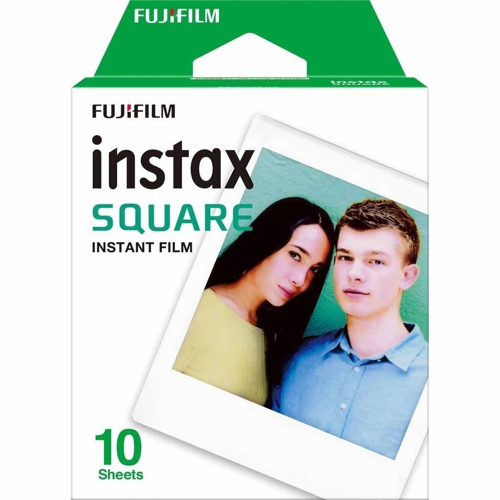 Fujifilm Instax Square Sofortbildfilm White Marble für 10 Aufnahmen