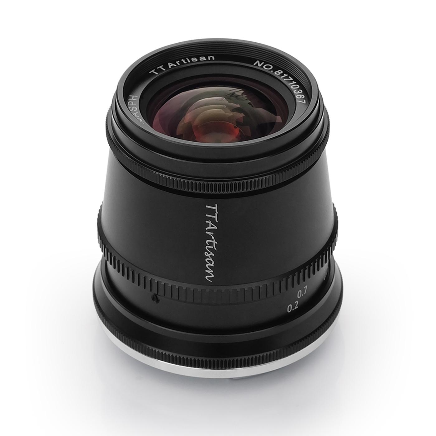TTArtisan 17mm 1:1,4 für Canon EF-M
