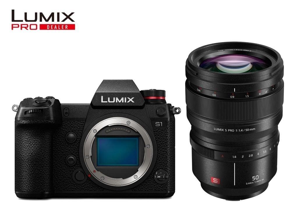 Panasonic LUMIX DC-S1 + LUMIX S PRO 50mm 1:1,4
