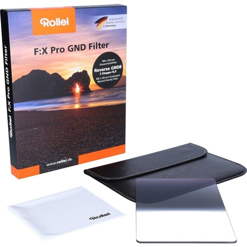 Rollei F:X Pro Reverse GND8 Grauverlaufsfilter 100mm Rechteckfilter
