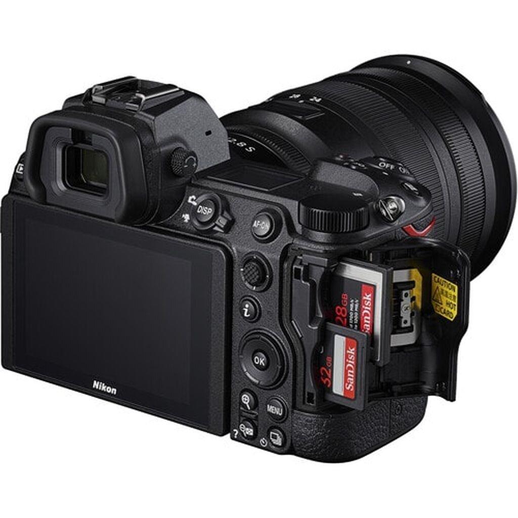 Nikon Z7 II + NIKKOR Z 24-70mm 1:4,0 S + FTZ Objektivadapter