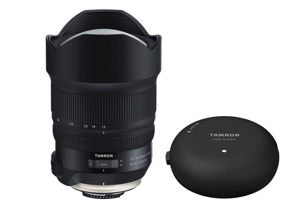 Tamron SP 15-30mm 1:2,8 Di VC USD G2 für Nikon F + Tamron TAP-in Console