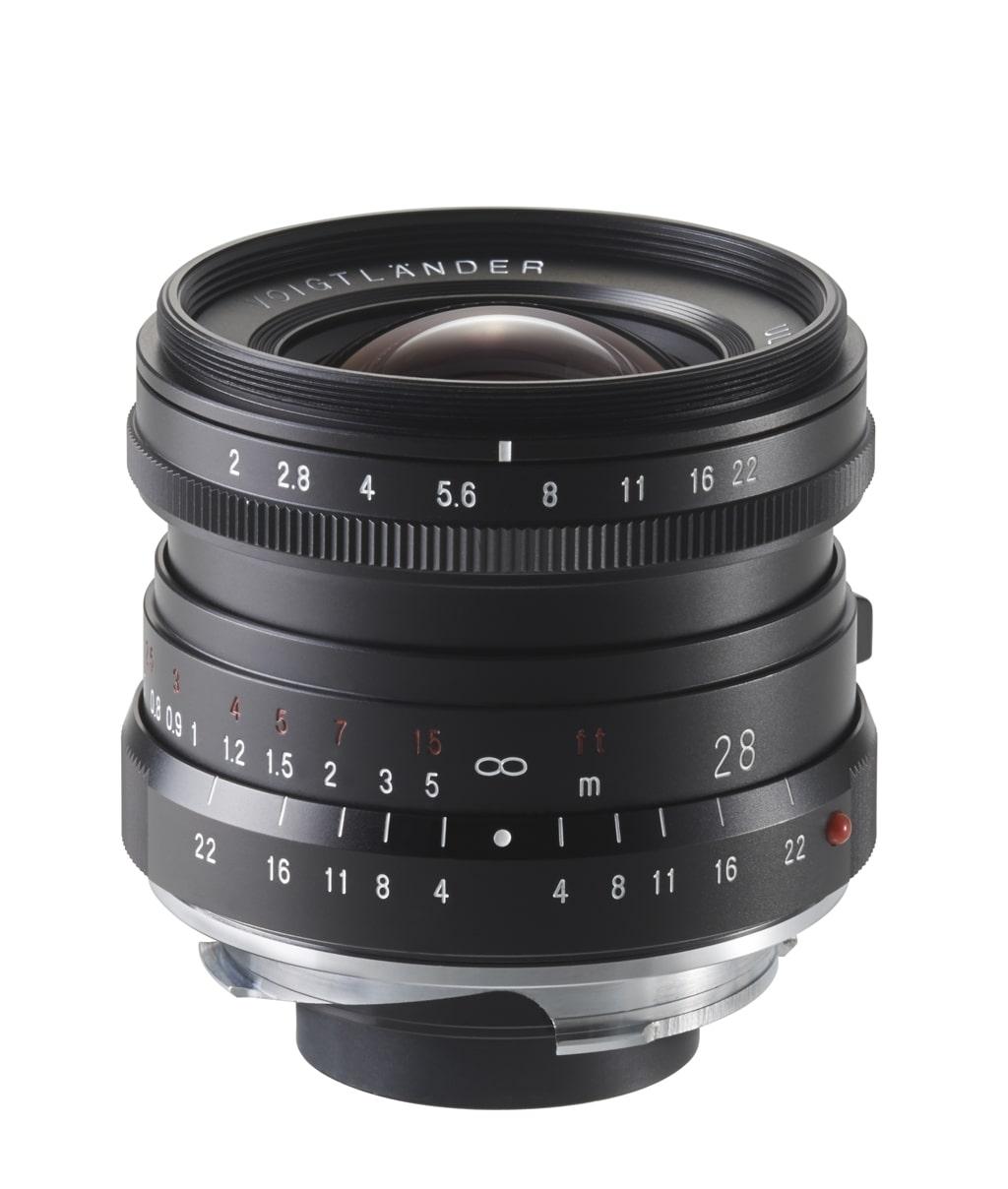 Voigtländer VM 28mm 2,0 Ultron Leica M schwarz