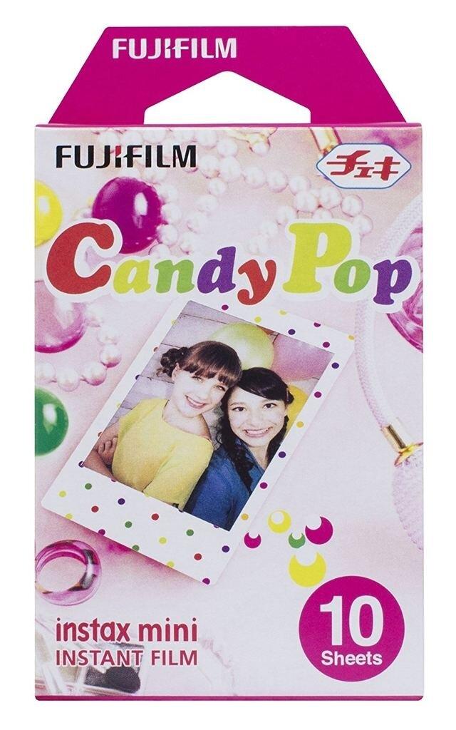 Fujifilm Instax Mini Sofortbildfilm Color Candy Pop für 10 Aufnahmen