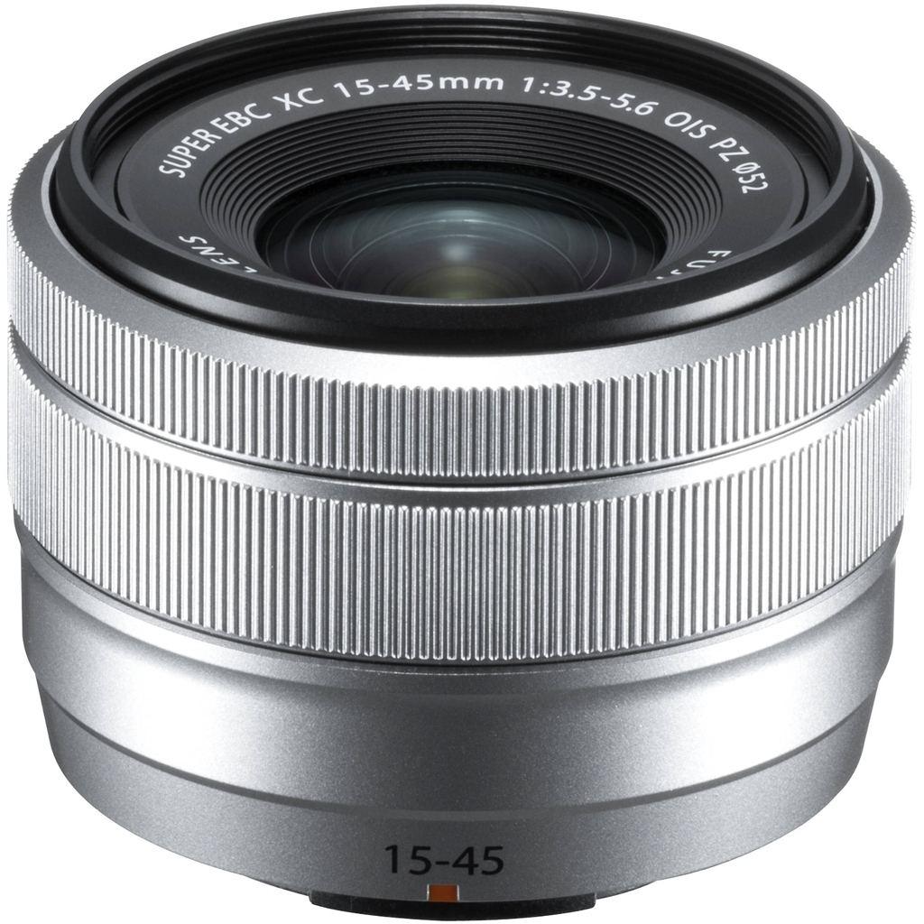 Fujifilm XC 15-45mm 1:3,5-5,6 OIS PZ silber aus Set