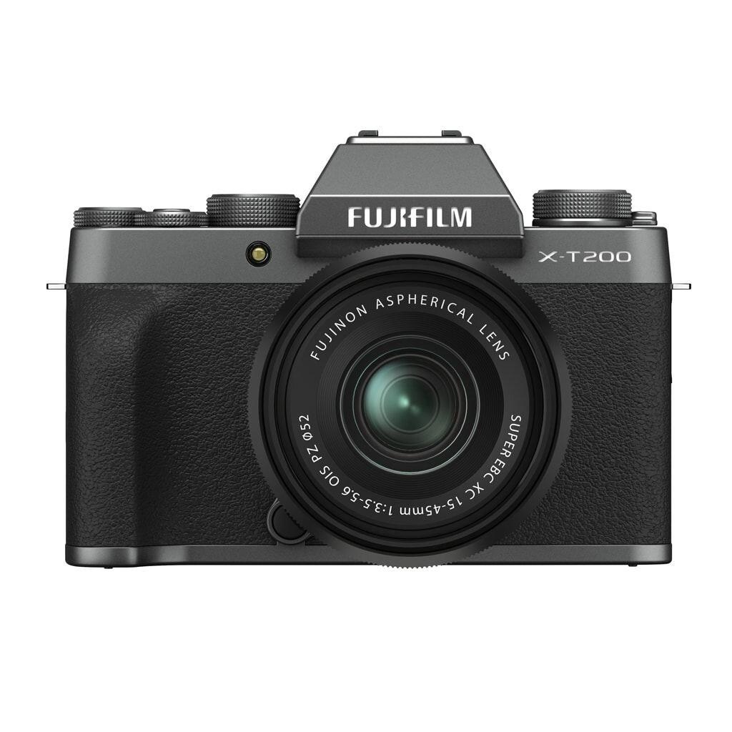 Fujifilm X-T200 Dunkelsilber inkl. XC 15-45mm 1:3,5-5,6 OIS PZ