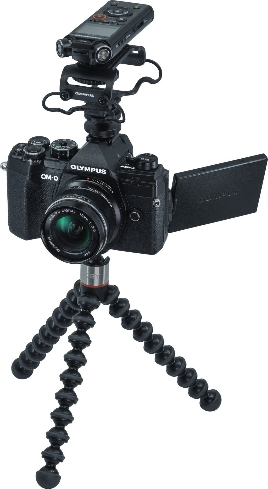 Olympus OM-D E-M5 Mark III schwarz Vlogger Kit + M. Zuiko Digital 12mm 1:2,0 schwarz + Zubehör