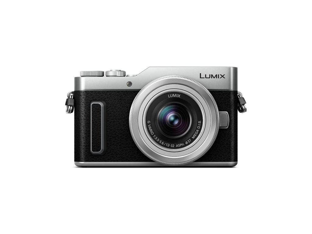 Panasonic LUMIX DC-GX880 Silber + 12-32mm 1:3,5-5,6 G VARIO MEGA O.I.S. (H-FS12032E-S)