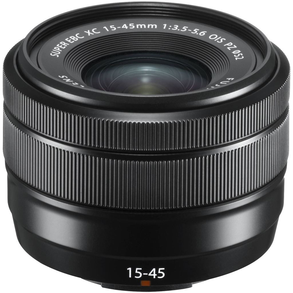 Fujifilm XC 15-45mm 1:3,5-5,6 OIS PZ schwarz aus Set
