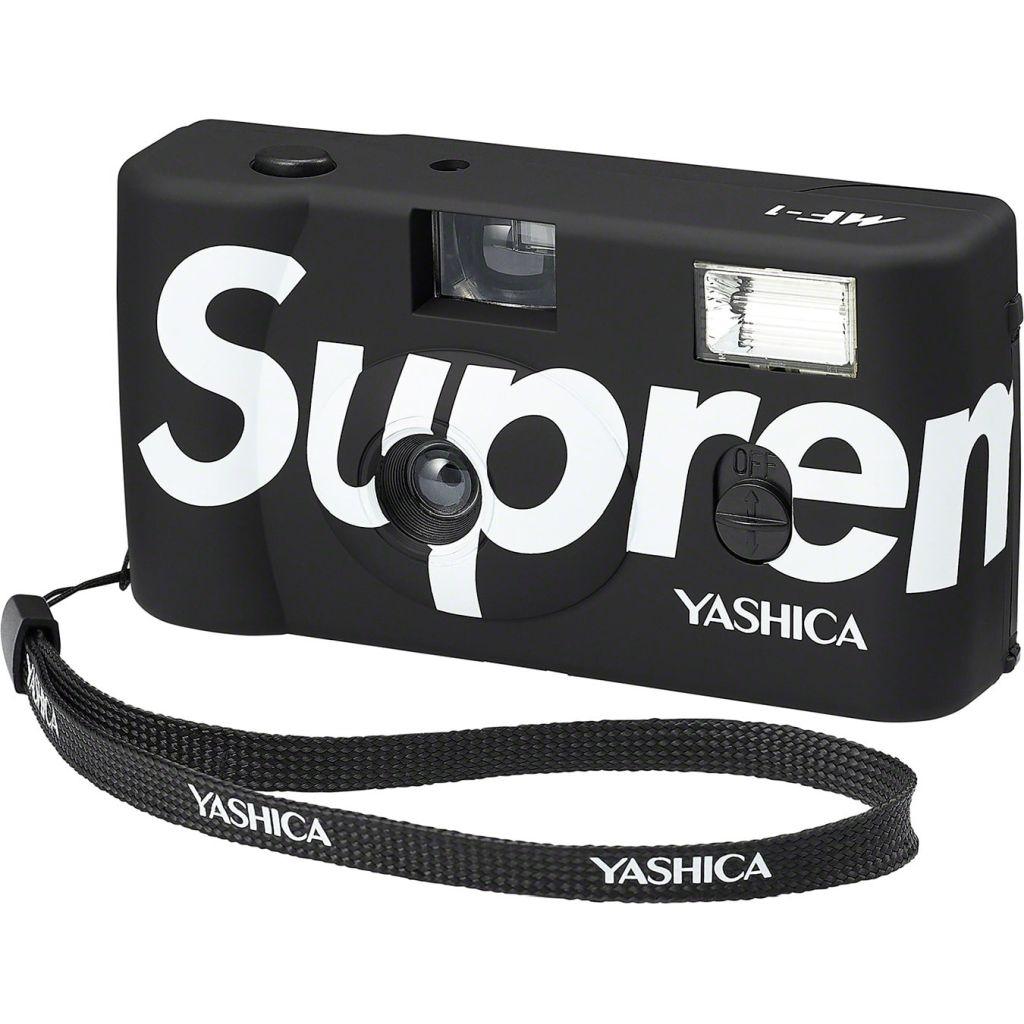 Yashica MF-1 x Supreme schwarz