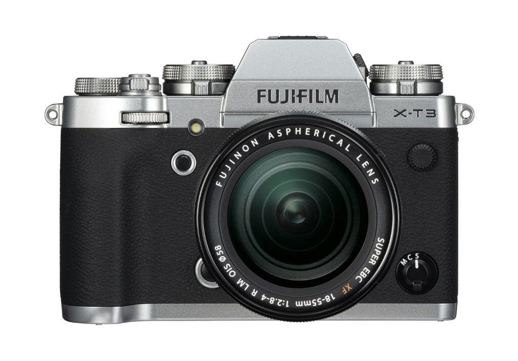 Fujifilm X-T3 silber inkl. XF 18-55mm 1:2,8-4,0 R LM OIS