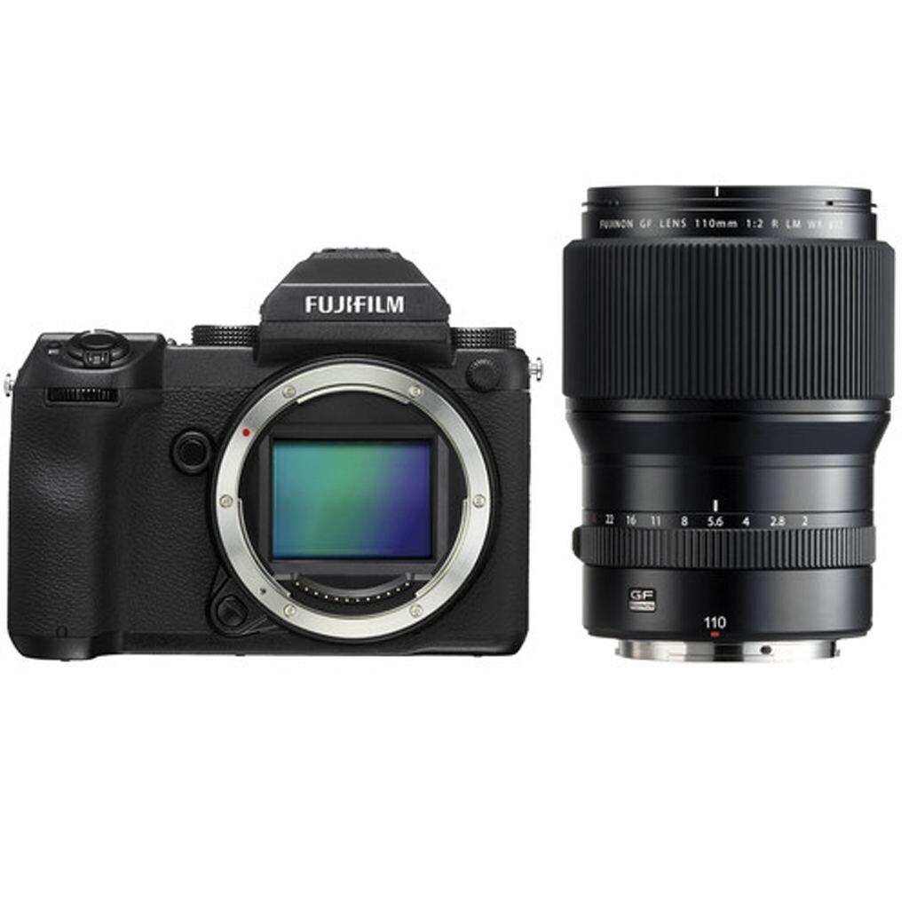 Fujifilm GFX 50S + GF 110 mm 1:2 R LM WR