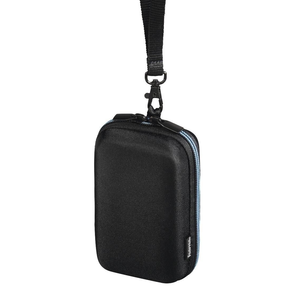 Hama Tasche Hardcase Zip 80M schwarz/blau