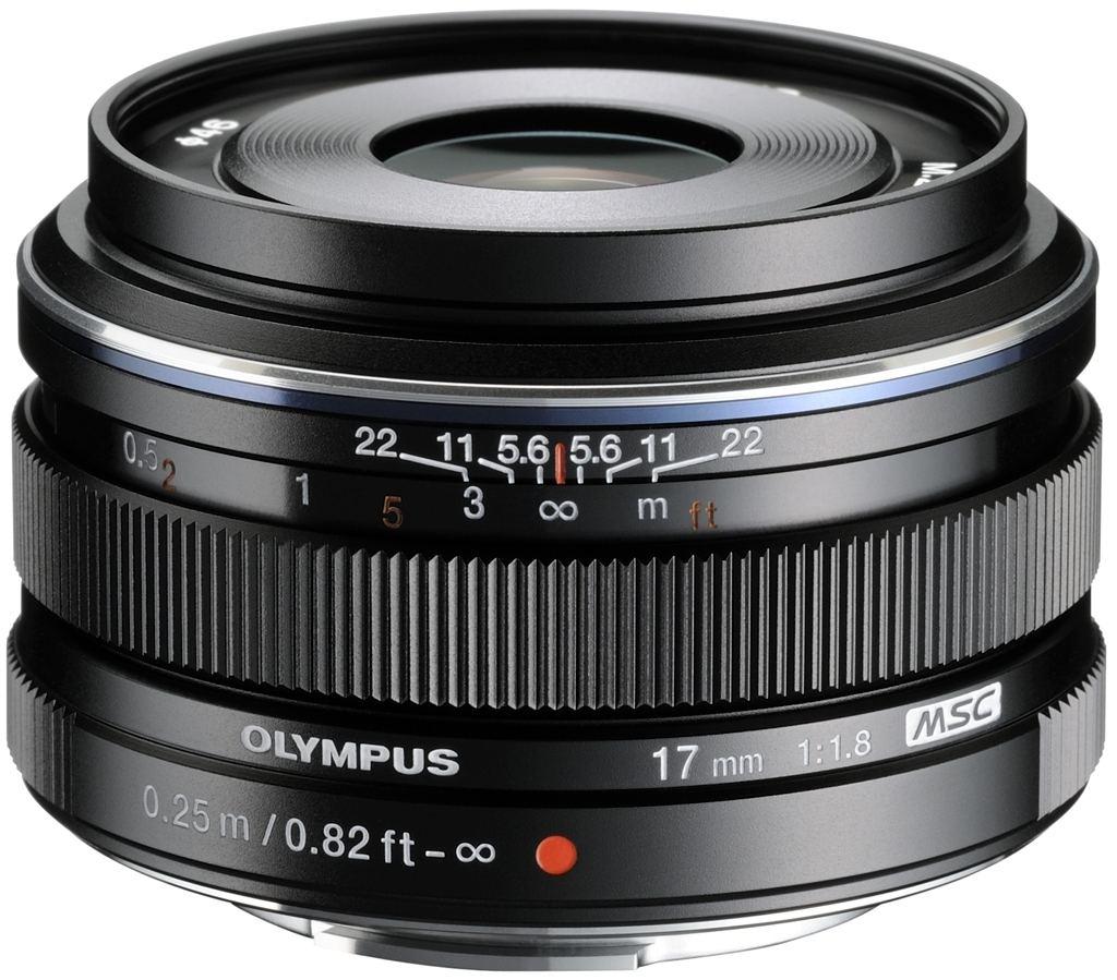 Olympus M Zuiko Digital 17 mm 1:1,8 schwarz