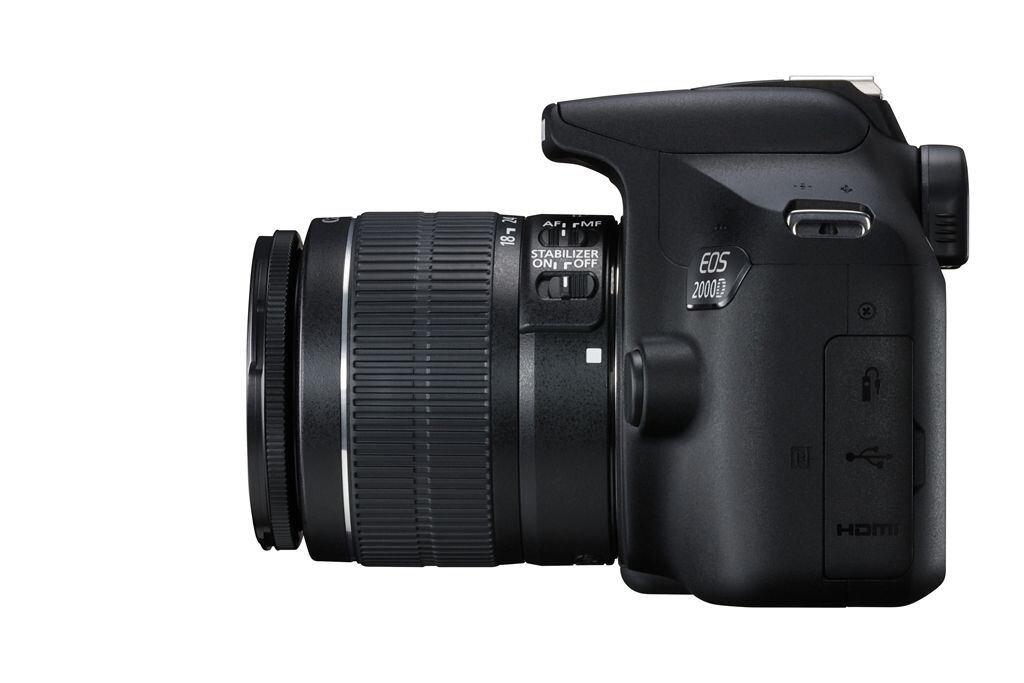 Canon EOS 2000D inkl. EF-S 18-55mm 1:3,5-5,6 IS II
