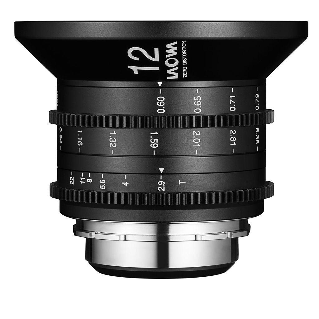 LAOWA 12mm T2.9 Zero-D Cine für Arri PL