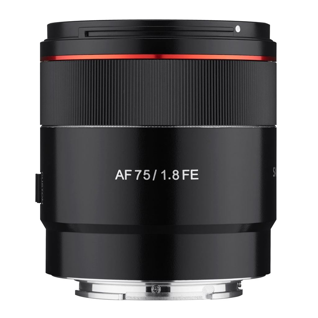 Samyang AF 75mm 1:1,8 FE für Sony E