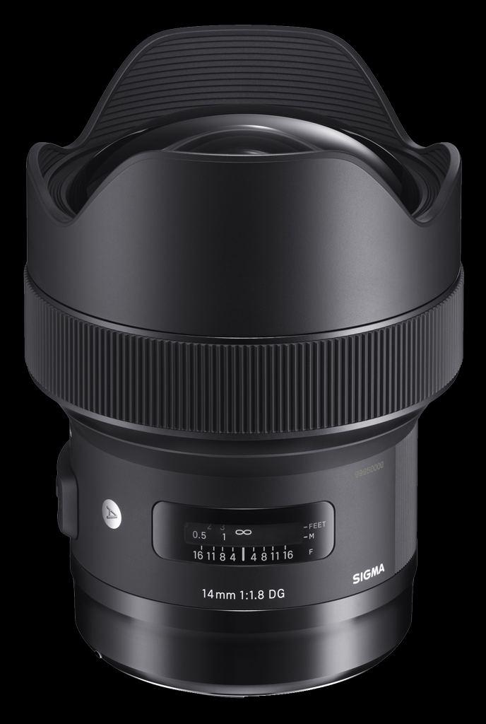 Sigma 14mm 1:1,8 DG HSM Art für Canon EF