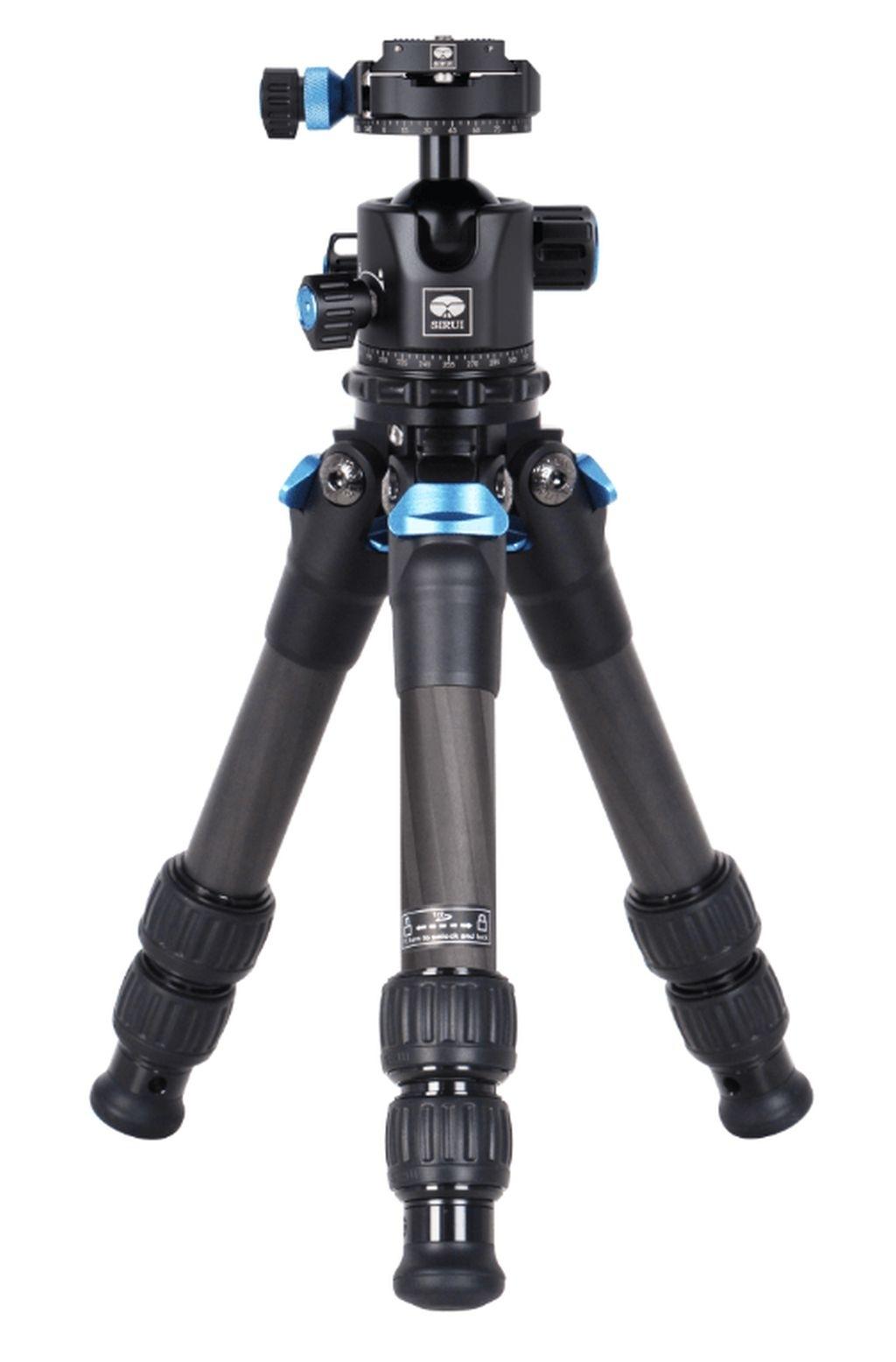 Sirui Compact XS Powerzwerg Dreibeinstativ Carbon mit Kugelkopf ST-10X