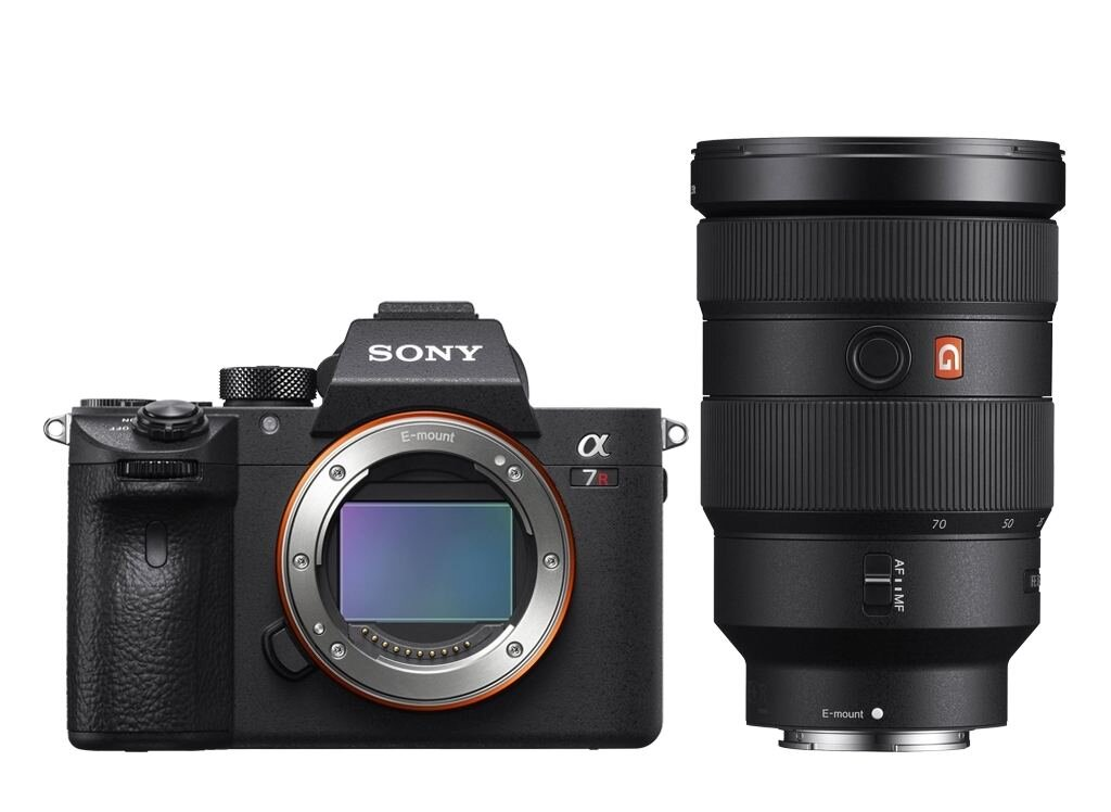 Sony Alpha 7R III A (ILCE7RM3A) inkl. SEL FE 24-70mm 1:2,8 GM (SEL2470GM)