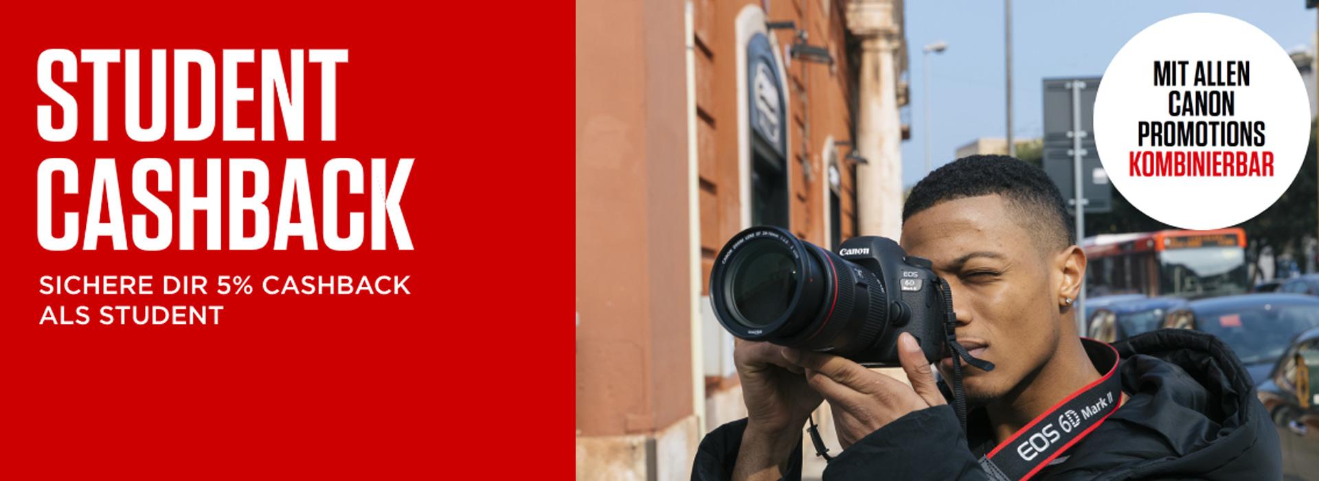 Canon Bonus 5 Prozent Cashback bei Fotomax