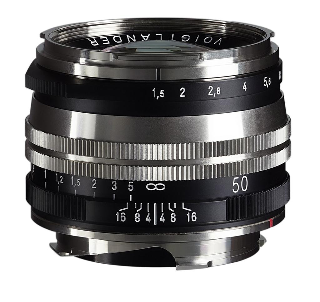 Voigtländer VM 50mm 1:1,5 Nokton S.C. asphärisch Leica M bicolor