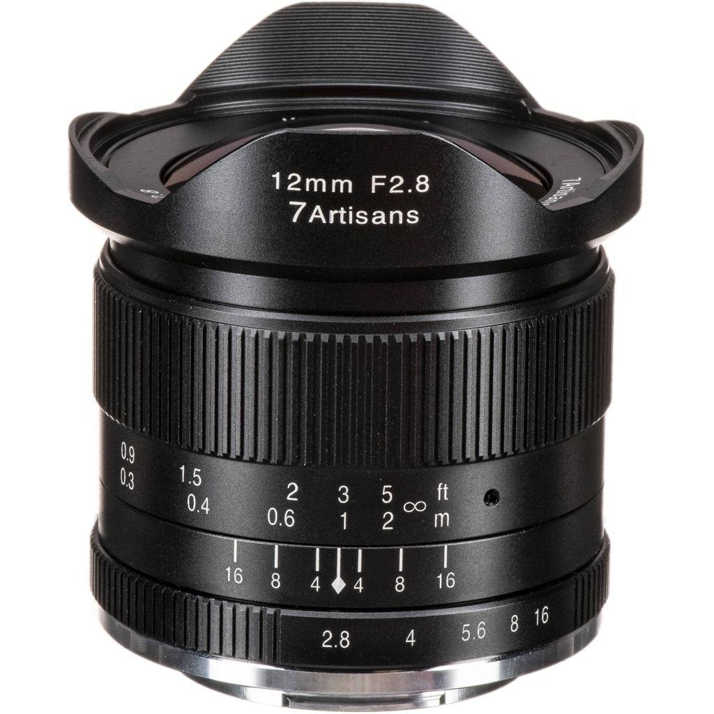 7Artisans 7,5mm 1:2,8 für Fuji X schwarz