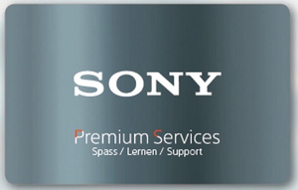 Sony Premium Service +1 Jahr Garantieverlängerung (DICARDEW1)