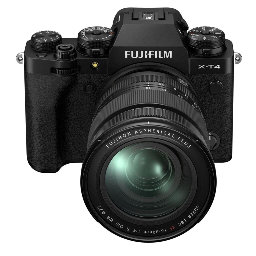 Fujifilm X-T4 schwarz inkl. XF 16-80mm 1:4 R OIS WR