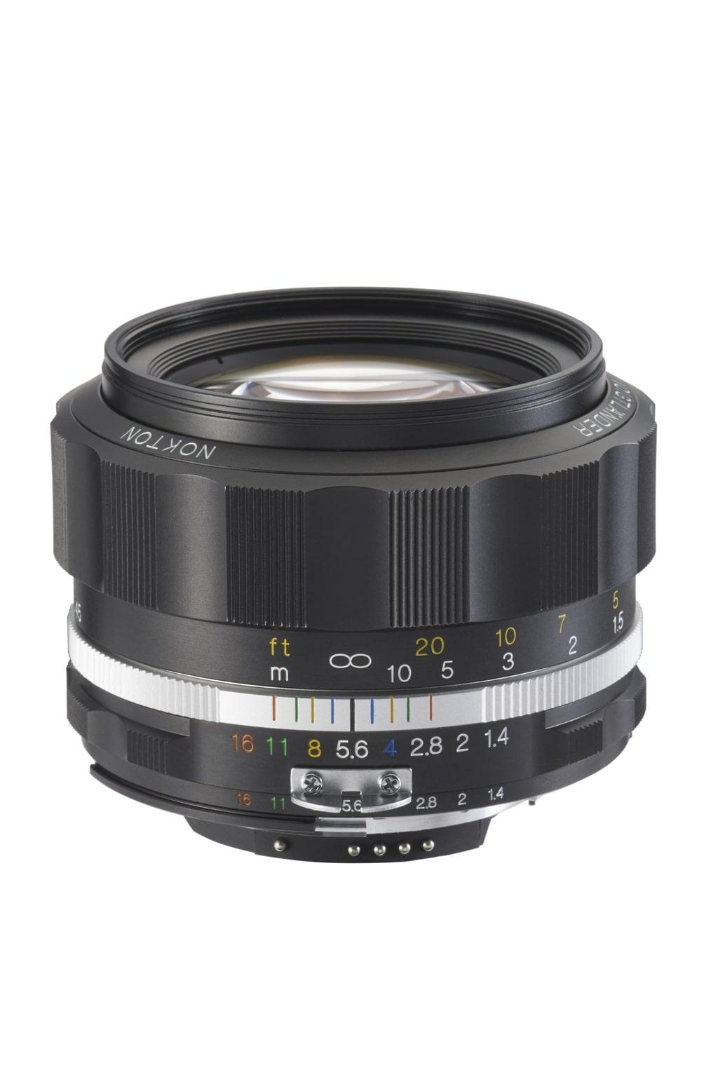 Voigtländer Nikon 58mm 1,4 Nokton SL II-S schwarz