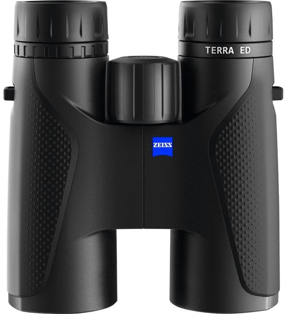 ZEISS Terra ED 10x42 schwarz + ZEISS Kreuztrageriemen