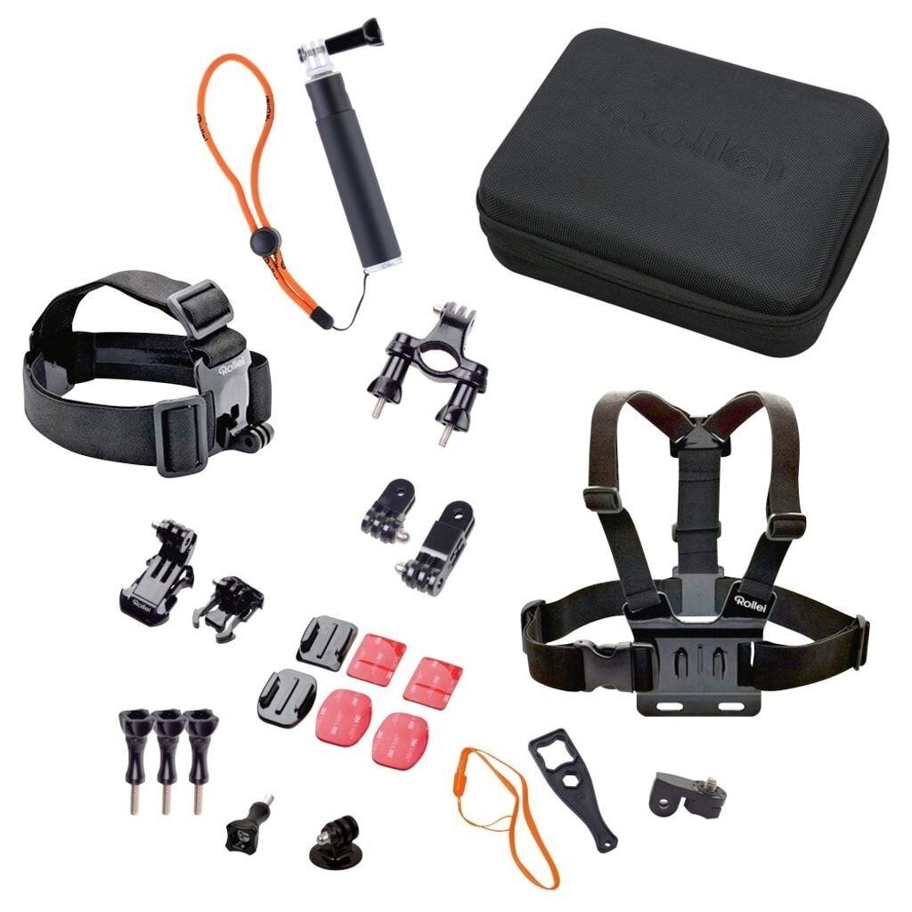 Rollei Actioncam Zubehör Set Outdoor für Rollei Actioncams und GoPro*